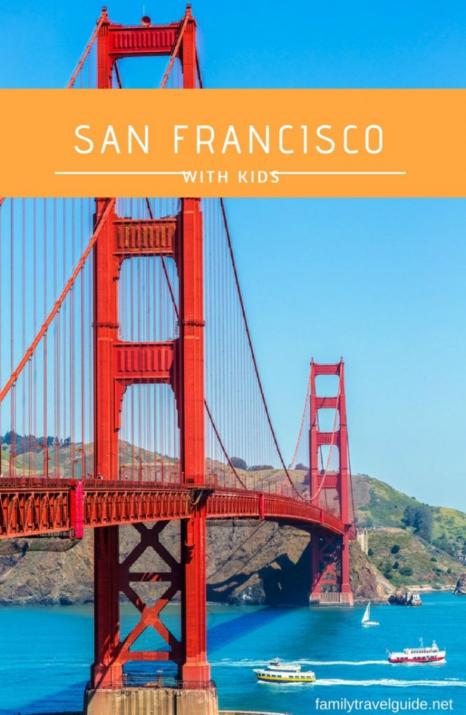 Things to see and do with kids in San Francisco. #familytravel