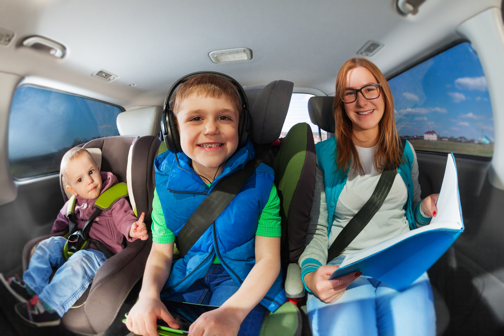 Make time for a family road trip this summer - be sure to bring lots of snacks and things to keep your kids entertained along the way.