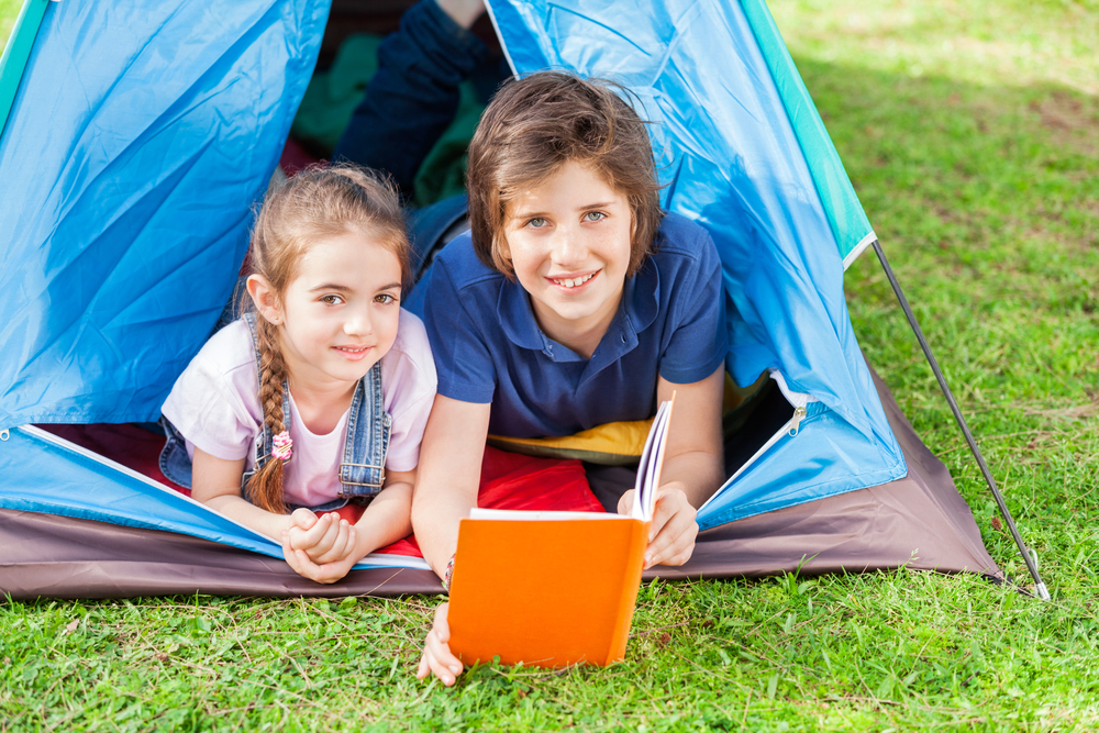 5 fun ideas for a family summer staycation: treat your backyard like a vacation retreat.