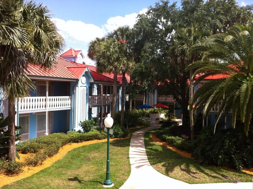 Caribbean Beach Resort - Disney World accommodations - Moderate category