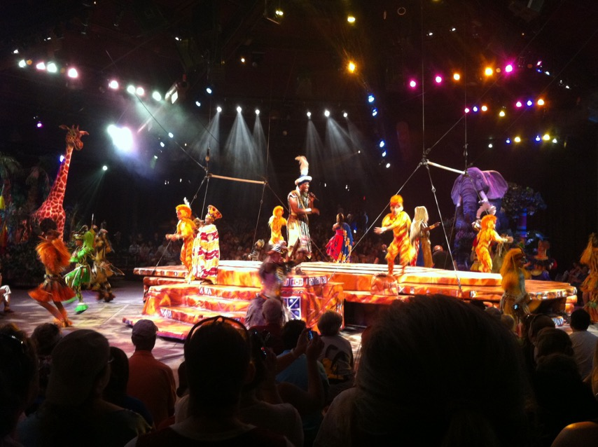 Lion King Show at Animal Kingdom Disney World