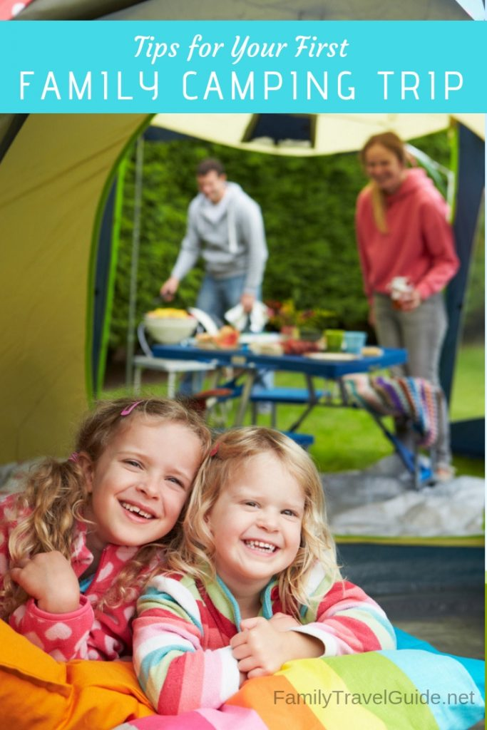 Tips for Your First Family Camping Trip