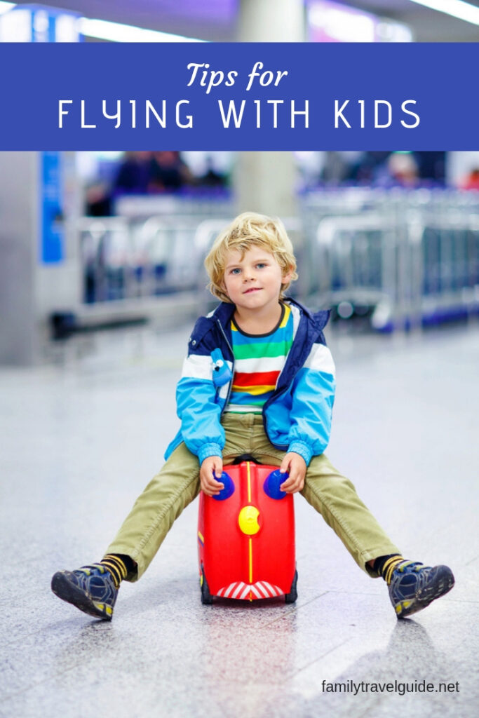 Tips for flying with kids. #familytravel